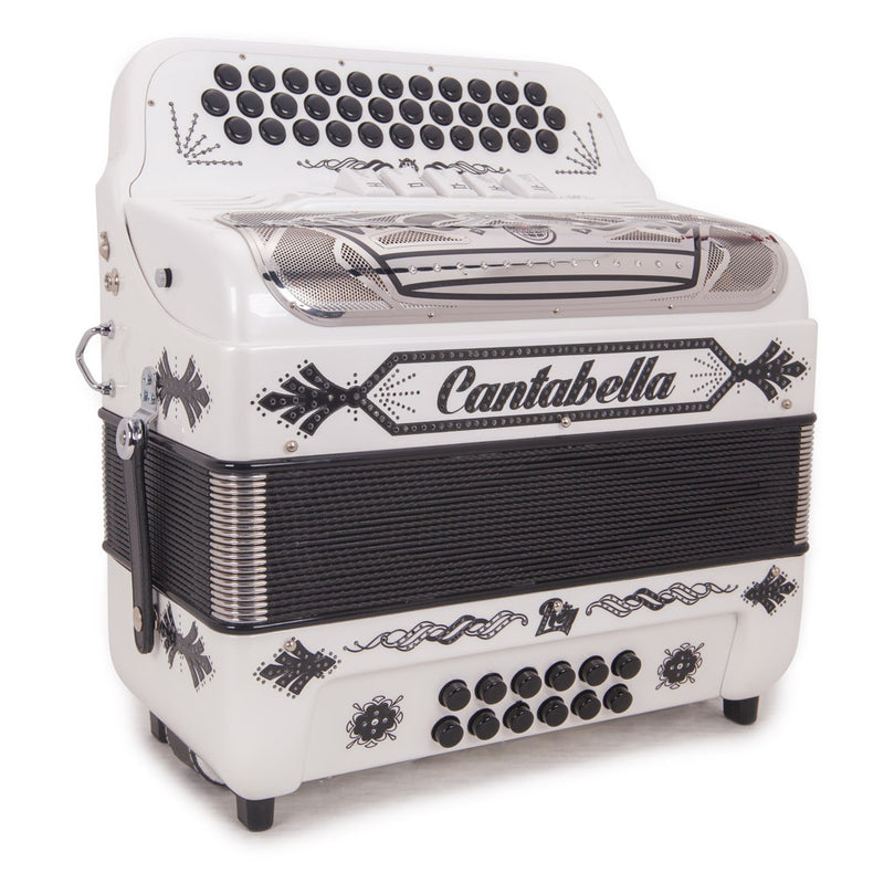 Cantabella Rey II EAD - 5 Switch Pearl White