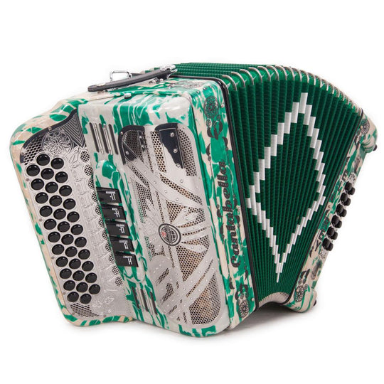 Cantabella El Rey Edi. Esp. Ramon Ayala 5 Switch FBE Green and White