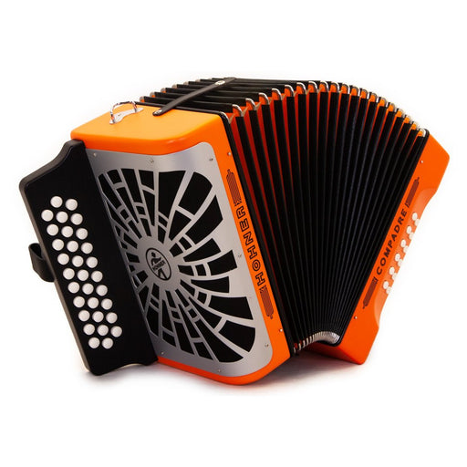 Hohner Compadre FBE Orange with Matte Gray Grill