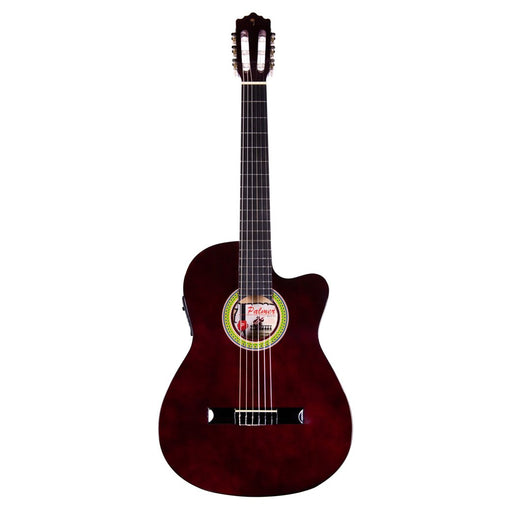 Palmer Slim Classic Guitar Red Wine with Pickup