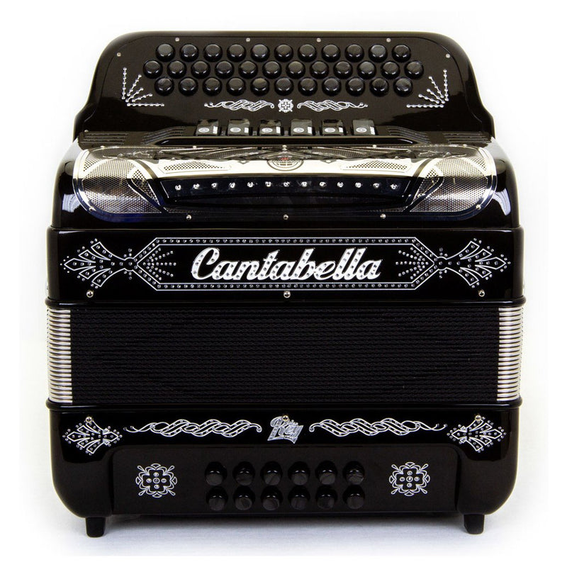 Cantabella Rey II FBE and EAD - 6 Switches Black