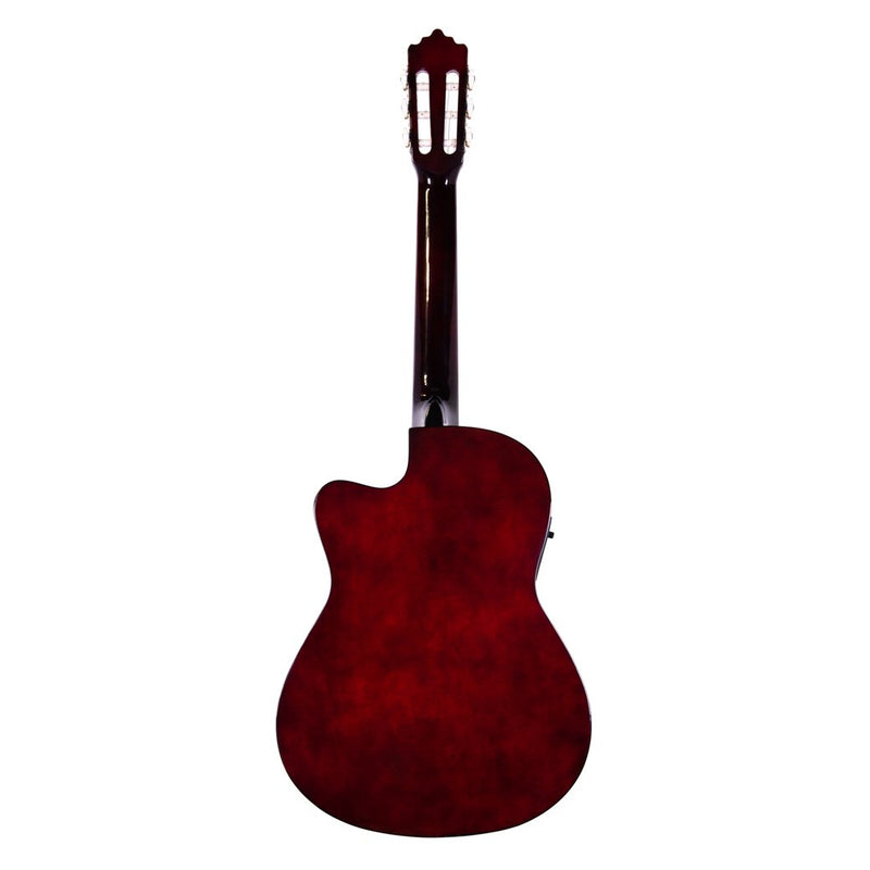 Palmer Classic Guitar Wine Red with Pickup