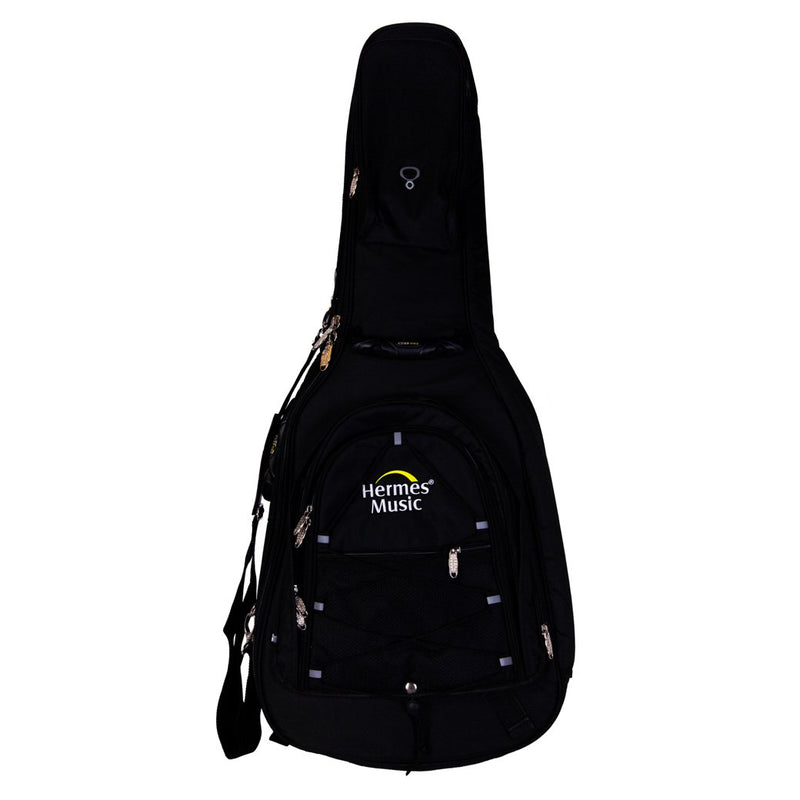 Pro-Lok Gig Bag for Classic Guitar with Backpack - Black