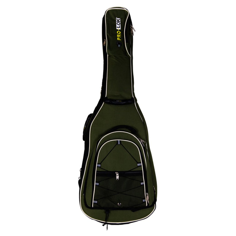 Pro-Lok Gig Bag for Bass with Backpack - Black