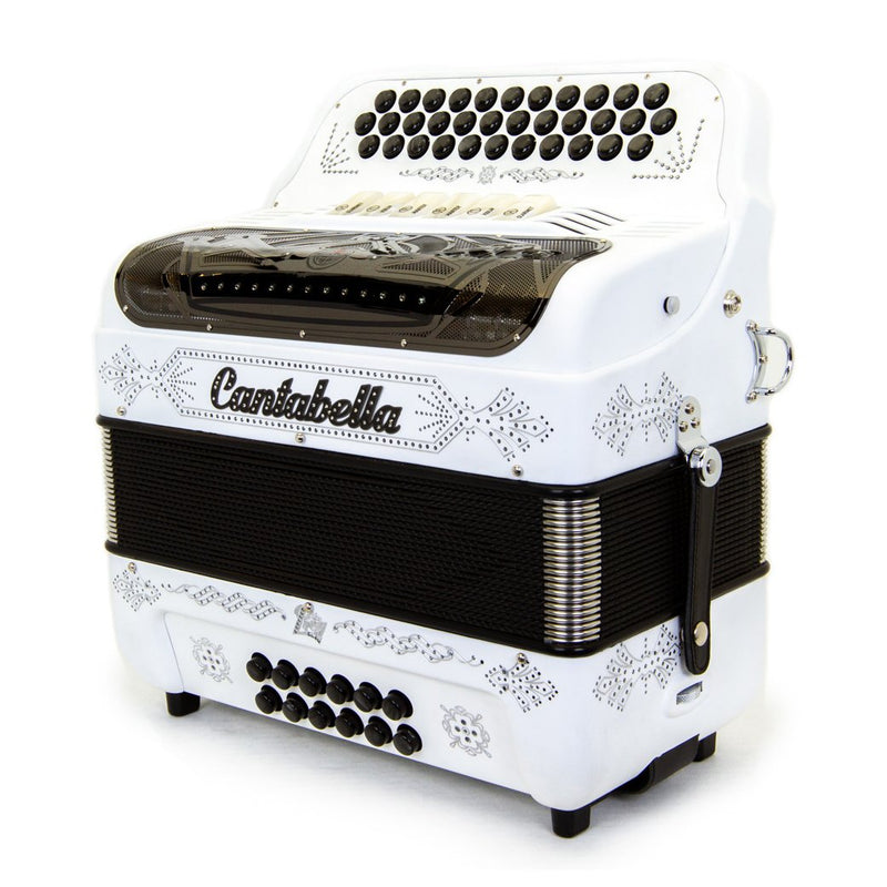 Cantabella Rey II FBE and EAD - 6 Switches Matte White with Beige