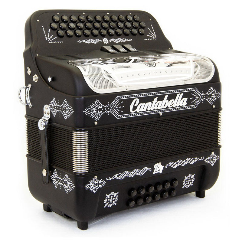 Cantabella Rey II FBE - 3 Switches Matte Black with Silver