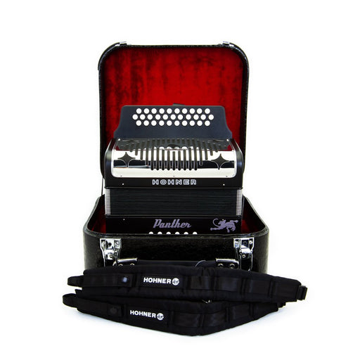 Hohner Panther GCF Package With Accordion Case