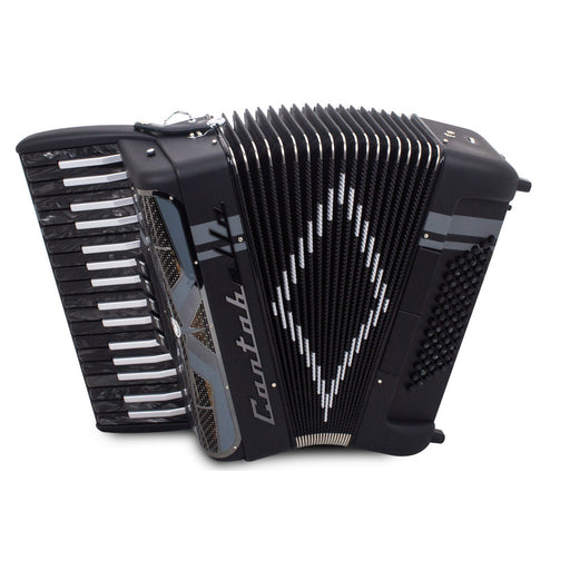 Cantabella Revolution Chromatic Accordion 5 Switch Black