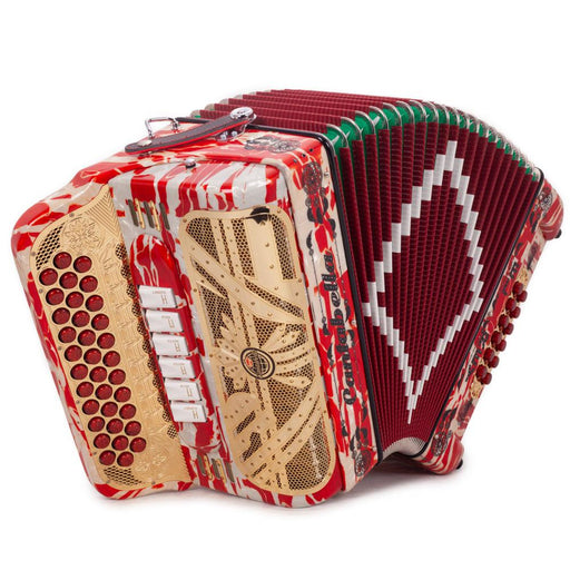 Cantabella El Rey Special Edition Ramon Ayala 6 Switch FBE and GCF White and Red
