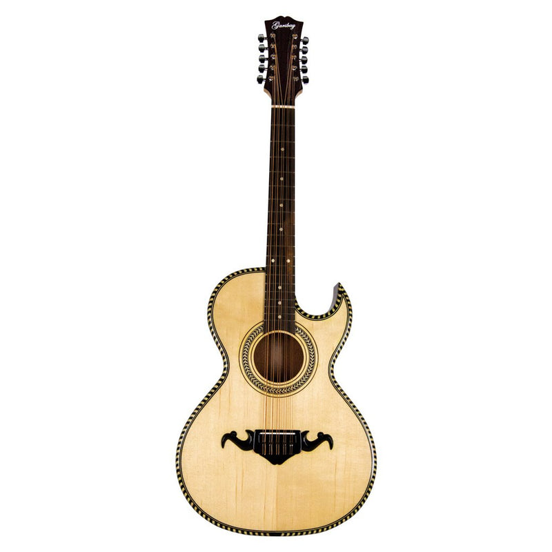 Garibay Bajo Quinto Natural with Hard Case