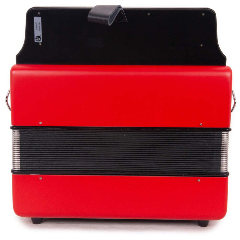 Hohner Compadre EAD Red with Gray Grill and Cantabella Straps Bundle