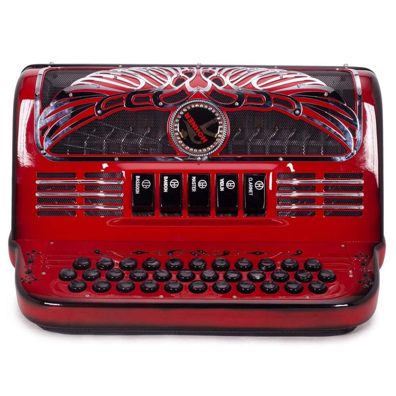 Anacleto Rey Aguila FBE 5 Switches Ruby Red Compact