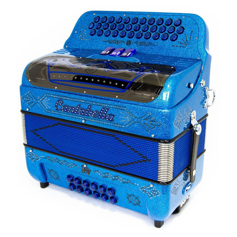 Cantabella Rey EAD 3 Switches Blue Sparkle