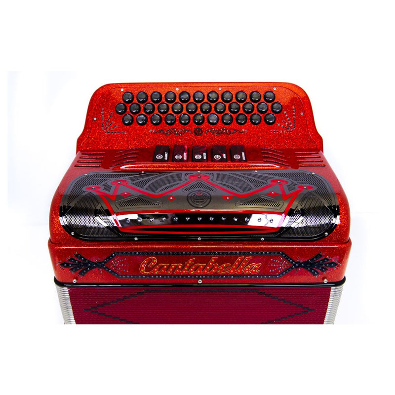 Cantabella Rey EAD 5 Switches Red Sparkle