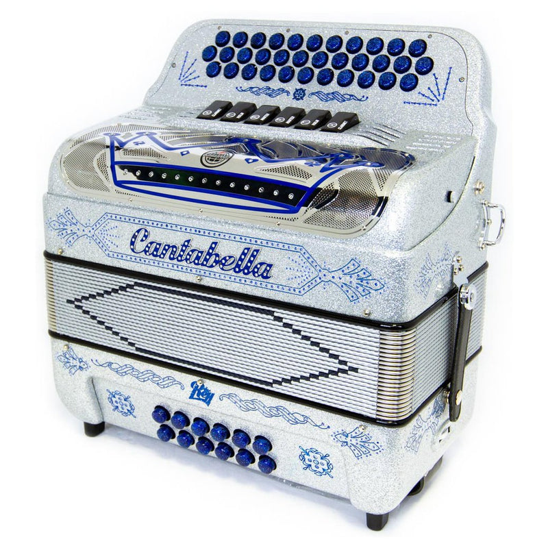 Cantabella Rey EAD and FBE 6 Switches Silver Sparkle