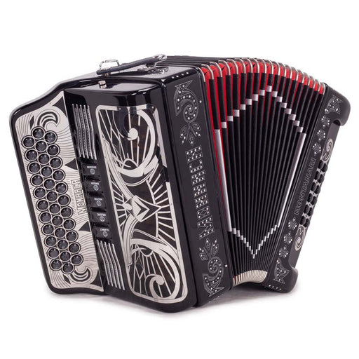 Montanari Monarca 5 Switches GCF Black Accordion
