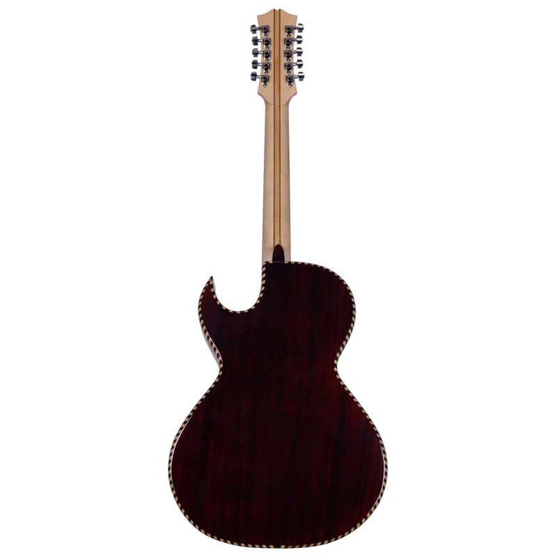 Garibay Sapele Bajo Quinto with Case and Accessories