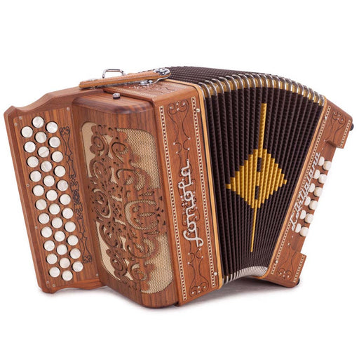 Sonola L'Artigiana Accordion No Switches FBE Natural Wood with White