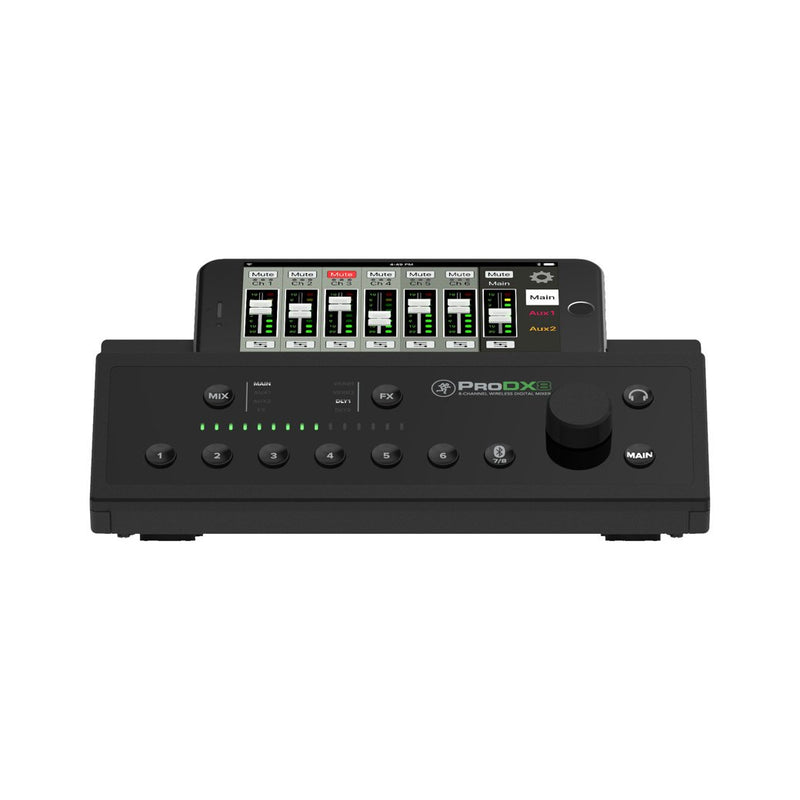Mackie Prodx8 8-Channel Compact Digital Mixer