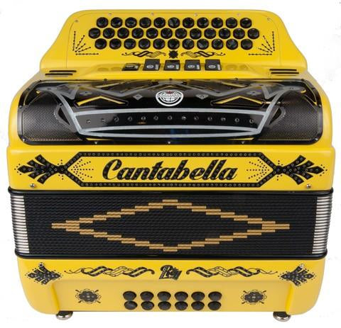 Cantabella Rey II EAD 5 Switches Yellow and Black