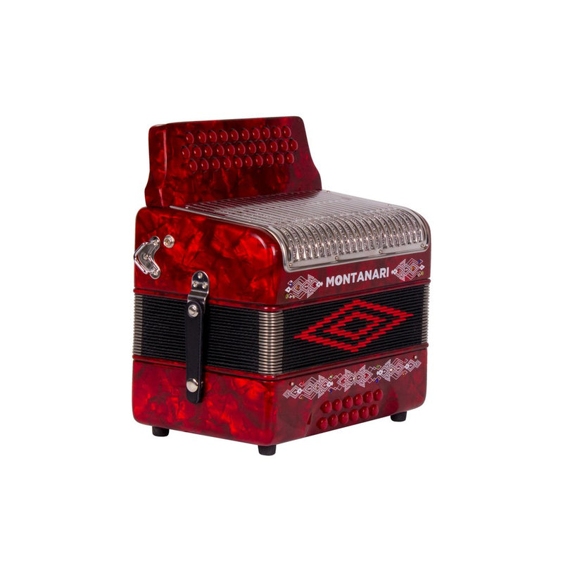 Montanari 3112 MG Accordion EAD Red