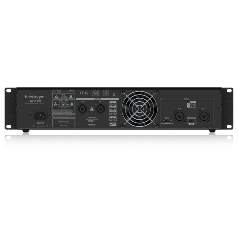 Behringer NX1000 1000W Ultra-Lightweight Power Amplifier