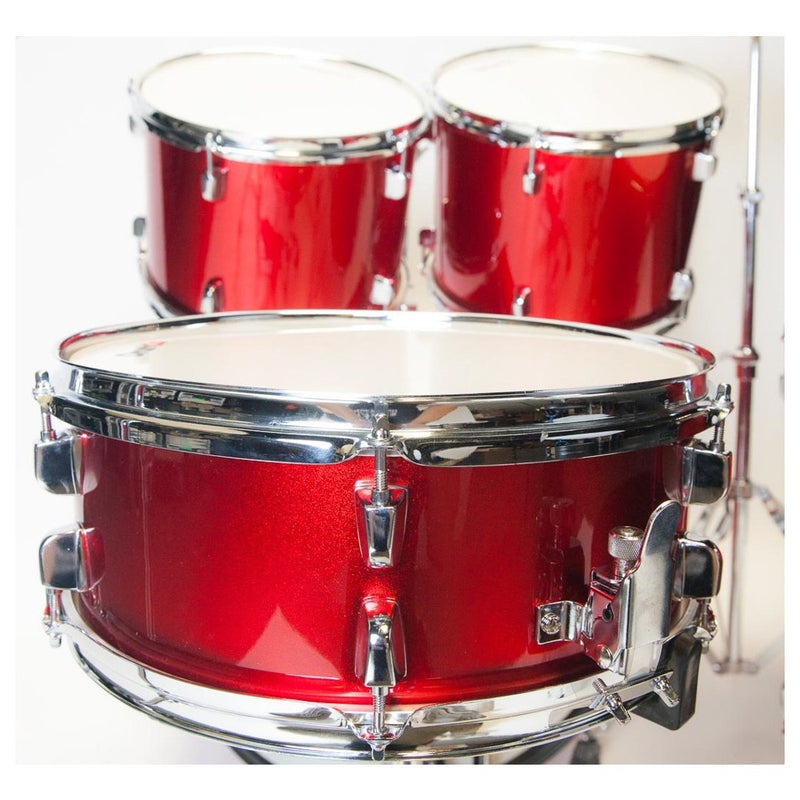 Drumco Obelix Drumset Red Chrome