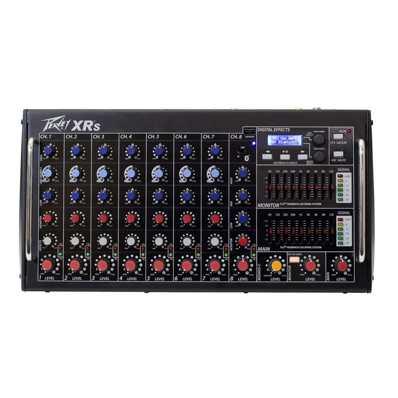 Peavey XR-S 9-Channel 1500W Powered Mixer with Auto-Tune