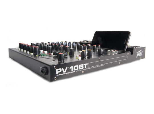 Peavey PV 10 BT 10-Channel Mixer with Bluetooth
