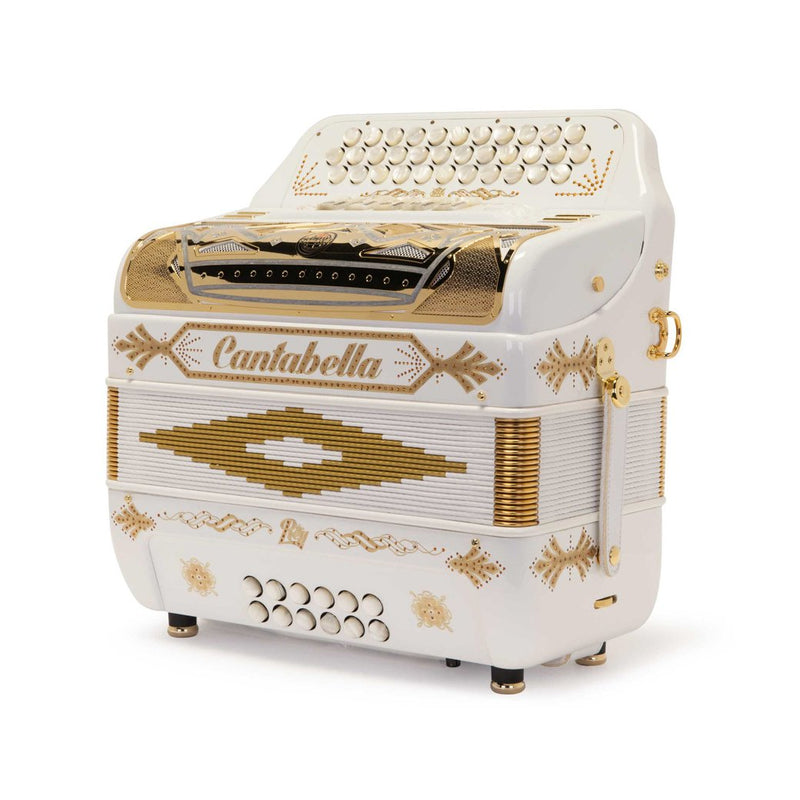 Cantabella Rey II FBE 5 Switches White with Gold