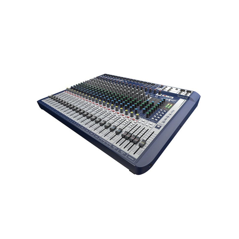 Soundcraft Signature-22 22-Channel Mixer with Effects