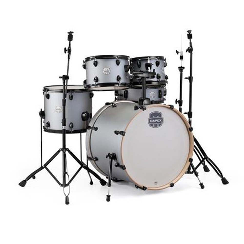 Mapex ST5295FBIG - 5 Piece Storm Series Rock Iron W/Hardware No Cymbals