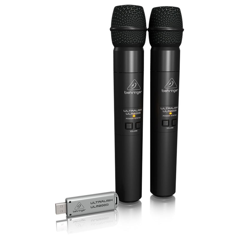 Behringer Ultralink 2.4 GHz Dual Wireless Microphone System