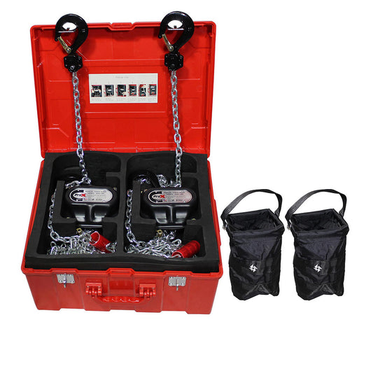 ProX 1 Ton Manual Chain Hoist W/30 Ft (9 M) Chain