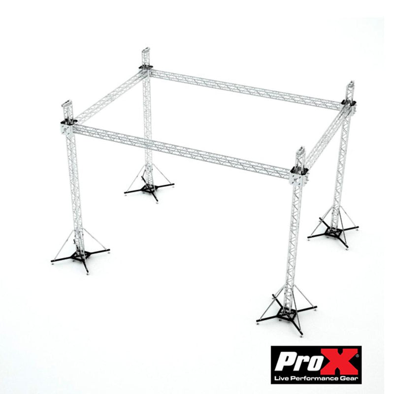 Pro X Stage Roofing System 30'W x 20'L x 23'H - Incl 4 Chain Hoist