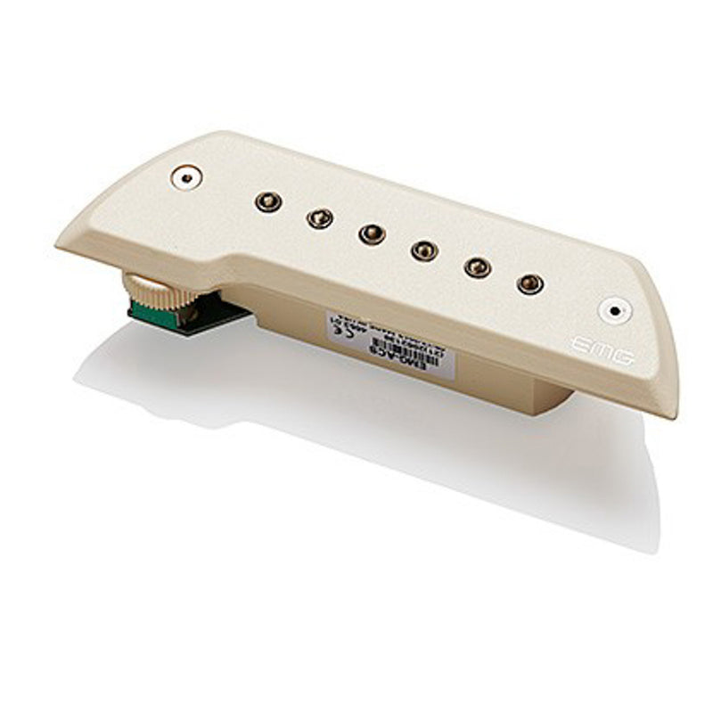 EMG ACS Pickup for Acoustic Instruments Ivory