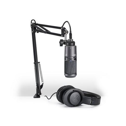 Audio Technica AT2020USB+PK Streaming/Podcasting Package