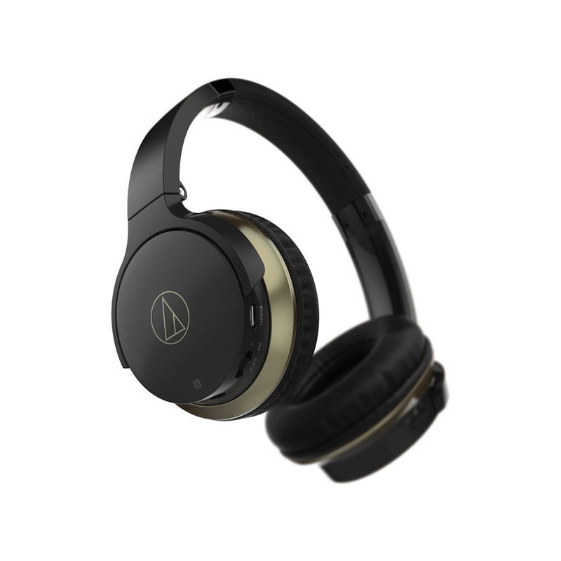 Audio Technica SonicFuel® Wireless On-Ear Headphones with Mic & Control