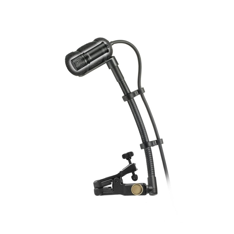 Audio Technica ATM350UCW Cardioid Condenser Clip-On Instrument Microphone