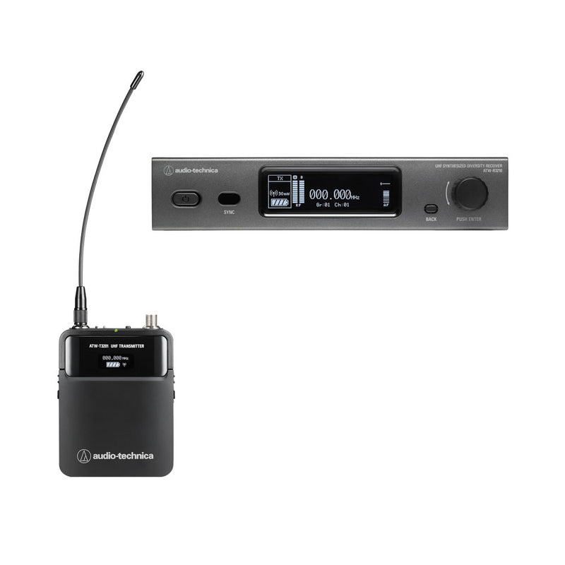 Audio Technica 3000 Series Wireless Microphone System Bundle