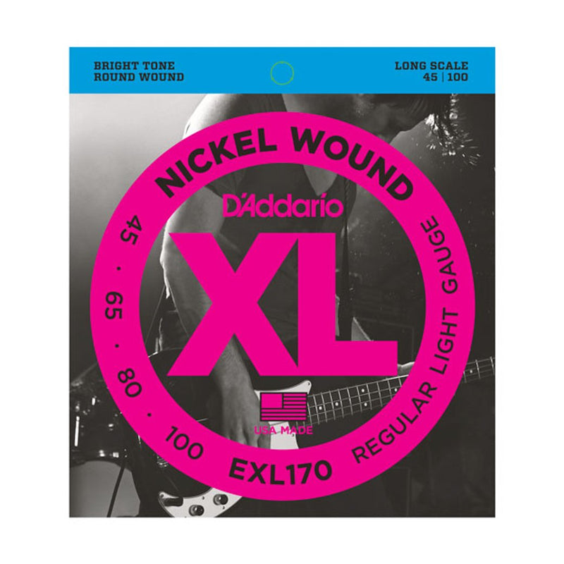 D'Addario EXL170-4 Strings for Electric Bass