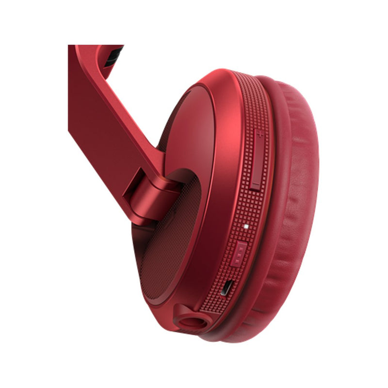 Pioneer HDJ-X5BT Wireless DJ Headphones Metallic Red