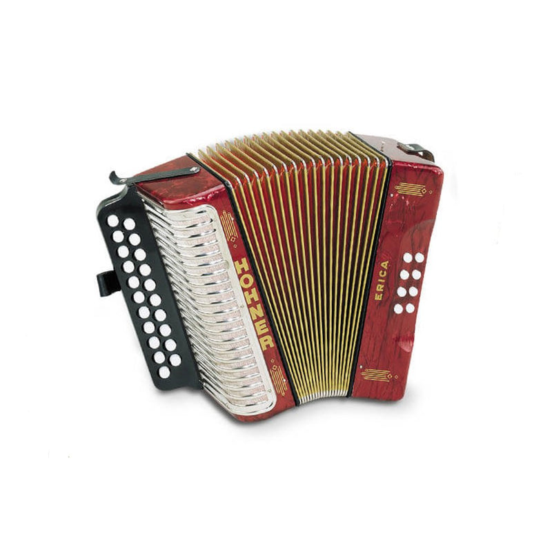 Hohner Erica Accordion AD - Red