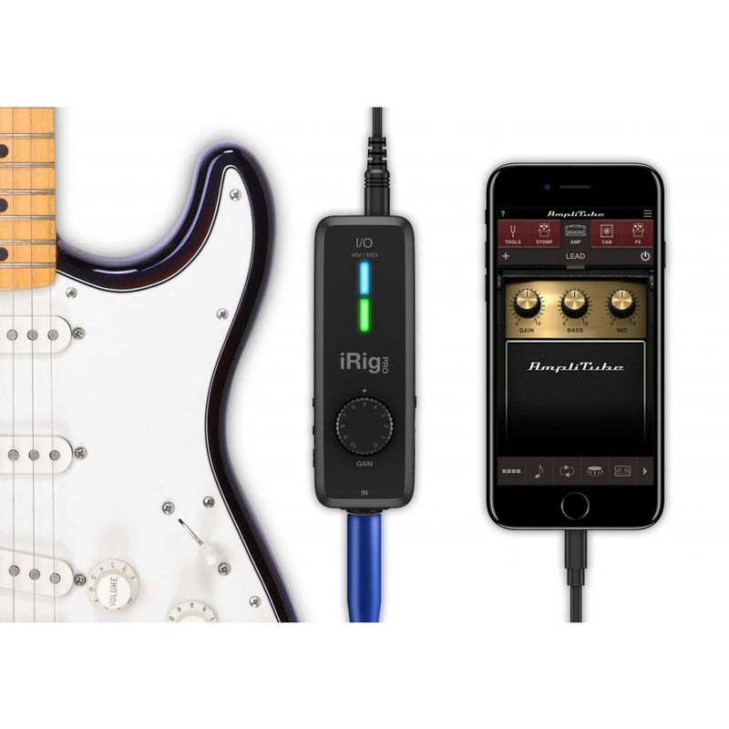 iRig Pro I/O Professional Audio/MIDI Interface