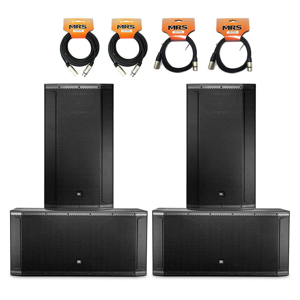JBL SRX Package for 500 People