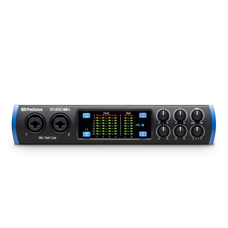 Presonus Studio 68C Ultra High-Def USB-C Audio Interface
