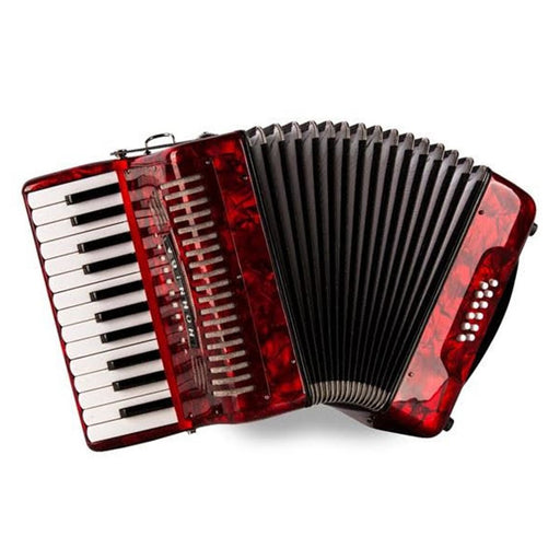 Hohner Economy 12 Bass Piano Accordion Red