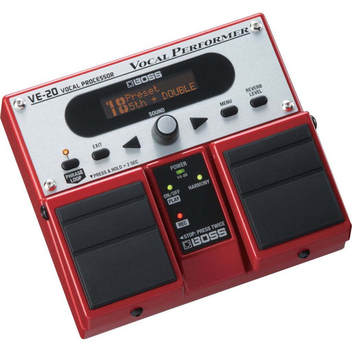 BOSS VE-20 Vocal Performer Stompbox