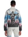 Cult of individuality type 11 denim jacket stretch in kong