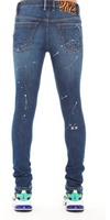 Cult of individuality punk super skinny stretch in painter